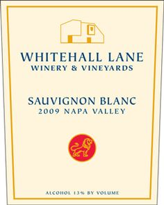 I really enjoy this Sauvignon Blanc from Whitehall Lane.  The tasting notes from the website:  This wine is bright and aromatic with hints of honeydew and refreshing flavors of lime peel with a squeeze of orange.