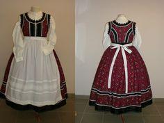 Pirisáné Nagy Katalin - Népviseletkészítő Folk Costume, Costumes, Folk Dance, Two Piece Skirt Set, Culture, Traditional, Summer Dresses, Womens Fashion, Skirts