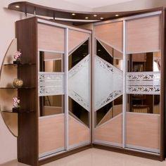 uglovoy-shkaf-kupe-foto-15 Wardrobe Design Bedroom, Wardrobe Closet, Glass Furniture, Stair Storage, Modern Glass, Living Room Designs, My House, Kitchen Design, Cool Designs