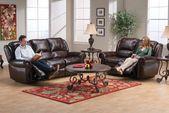 Westland Leather Reclining Sofa from Gardner-White Furniture