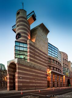 No 1 Poultry  James Stirling