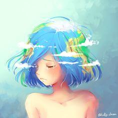 La tierra,si fuera una mujer  -Señorita Neko