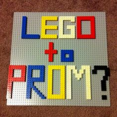 So I'm out of luck. ): Absolutely no one accepted any of my fandom prom invitations and I'm quite sad... So is there anyone out there that wants to go with me? (: you know girls, we can go as friends.. Who needs guys? But any guys that wanna take me.... :$ Feel free. Comment for me? Hehehe. So, Lego to Prom? <3