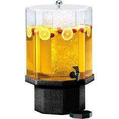 13W x 13D x 22H Classic Beverage Dispenser 5 Gallon Mirror