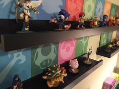 Super Smash Bro Amiibo Display with Tutorial