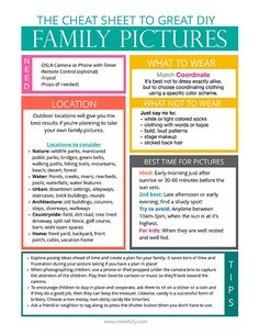 DIY Family Portraits: The *Free* Cheat Sheet - Creatifully Family Pictures, Cool Pictures, Just Say No, Cheat Sheets, Aperture, Creative Photography, Family Portraits, Cheating, Sayings