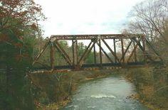 Georgia scenery - old bridge over the Coosawattee River, near Carter's Lake