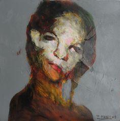 Iraqi Artist Wadhah Mahdi.  Love his stuff.  Want it.