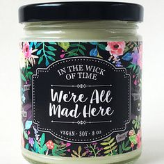 A Peter Pan candle that gives you directions, and an Alice in Wonderland one that smells like a tea party. | 30 Magical Disney Decorations You Need In Your Life
