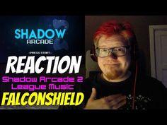 Shadow Arcade 2 REACTION | Falconshield Music