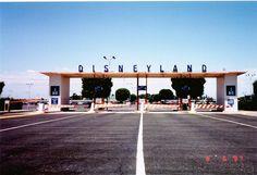 Vintage Disneyland Parking Lot Entrance