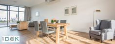 Heerlijk wonen aan het water midden in het centrum: het Dok Vlissingen biedt ruime luxe appartementen te koop en te huur aan. Voor meer informatie:  www.hetdokvlissingen.nl