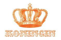 Free printable: Koningin placemate for Koninginnedag  Te downloaden via de site achter de foto.