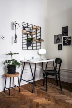 In de keuken, badkamer, home-office, slaapkamer, dit wandrek staat echt overal. Superleuk om te d...