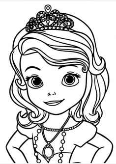 best sofia the first coloring pages - Sofia The First Coloring Pages