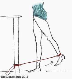 The Dance Buzz: Thera-Bands for Dancers: Improve Balance
