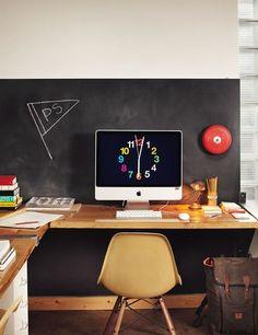 Home Office Furniture: Choosing The Right Computer Desk Interior Design Photos, Office Interior Design, Office Interiors, Mumbai, Small Home Offices, Contemporary Desk, Simple Desk, Workspace Inspiration, Design Inspiration