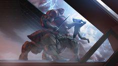 Matt Rhodes: Concept Art – Mass Effect, Shadow Broker