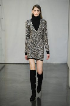How Rachel does sequins!! Can't wait to get my hands on this look. Rachel Zoe Fall 2015: The Complete Collection | The Zoe Report