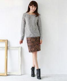 【ZOZOTOWN 送料無料】REAL CUBE(リアルキューブ)のスカート「REAL CUBE レースジャガード ペンシルスカート」(D34131010)を購入できます。