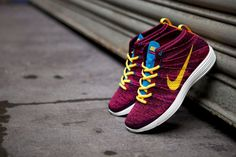 NIKE LUNAR FLYKNIT CHUKKA (GRAND PURPLE)