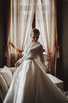 Ania, the bride.  When a bride looks like a natural born model.     #bride #braut #weddingday