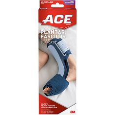 ACE Plantar Fasciitis Sleep Brace....this thing is a MIRACLE ! Relief from heel pain in just one night!