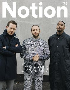 chase & status for notion 75 - Vicky Grout Vicky Grout, Chase And Status, Inspirational Music, Independent Music, Music Magazines, Suit Jacket, Cover, Stars, Ideas