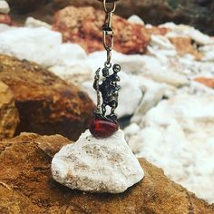 Christopher is the patron saint of travelers and of children. Stay protected on your travels with my NEW St. Christopher and Amber Tumble Keyring. Patron Saints, Baltic Amber, Lucky Charm, Key Rings, Traveling By Yourself, Charmed, Christmas Ornaments, Holiday Decor, Children