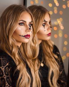 (notitle) - halloween makeup - Halloween MakeUp and Kostume Halloween Makeup Artist, Halloween Makeup Looks, Halloween Tags, Makeup Artist Jobs, Makeup 2018, Make Up Art, Long Hair Styles, Inspiration, Beauty