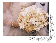 Gardenia and Rose bouquet