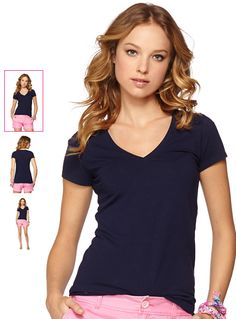 d6041940dce04f Shop the Michele V-Neck Top with complimentary shipping and effortless  returns The perfect v-neck t-shirt is a wardrobe building block.