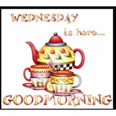 Good morning Pinterest, Wednesday is here!