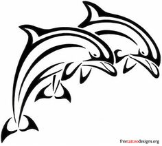 Juming dolphins tattoo design