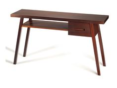 Rectangular oak console table MURFY by Mambo Unlimited Ideas | design Claudia Melo