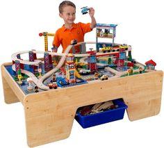 Imaginarium City Central Train Table in Great Big ToysRUs Play Book ...