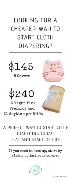 Cost of Cloth Diapering – Nuggles Designs Canada