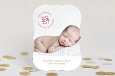 Christmas Baby by Katie Wahn at minted.com