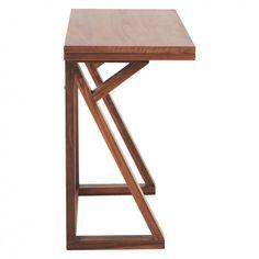 HEATH 2-4 seat walnut folding table | Buy now at Habitat UK