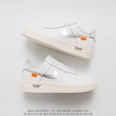 new arrival b3e63 7c7c2 Ao4606 100 Nike Off-White X Nike Air Force 1 Af1 Limited Edition Crossover