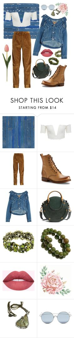 """Warm DiCaprio spring"" by annastephaniegrishko ❤ liked on Polyvore featuring NLXL, Vetements, Frye, Balenciaga and For Art's Sake"