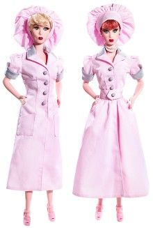 Hollywood Dolls - View Hollywood Barbie & Celebrity Dolls | Barbie Collector / Lucy and Ethel in Chocolate Factory