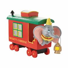 The Jolly Christmas Shop - Department 56 Disney Village Mickey's Holiday Caboose Figure 4053051, $38.00 (https://www.thejollychristmasshop.com/department-56-disney-village-mickeys-holiday-caboose-figure-4053051/)
