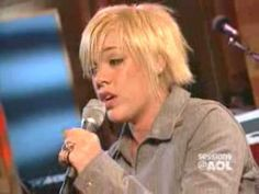"Pink singing ""Me & Bobby McGee"" ...this girl can sing!  This was 9 years ago in 2003...wow."