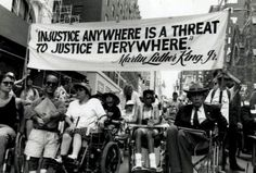 Disability March as part of the Women's March on Washington, Jan. 21, 2017