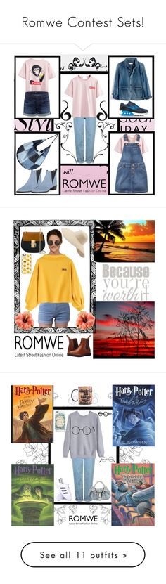 """""""Romwe Contest Sets!"""" by bevmardesigns ❤ liked on Polyvore featuring Bomedo, Topshop, Madewell, NIKE, Acne Studios, 3x1, WithChic, Dr. Martens, Chloé and Linda Farrow"""