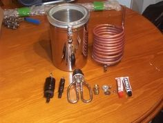 How I made My HERMS heat exchangers - The HomeBrew Forum
