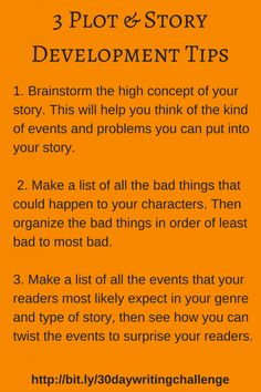 3 Plot & Story Development Tips to Prepare Your Novel for Nanowrimo