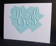 CASology Week 191: Washi Camouflage die caut with washi tape Thank You card
