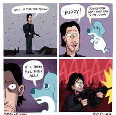 john wick pictures and jokes / funny pictures & best jokes: comics, images, video, humor, gif animation - i lol'd Chuck Norris Memes, Funny Saturday Memes, Funny Jokes, Hilarious, Funny Shit, Funny Stuff, Stupid Jokes, Funny Humour, John Wicks
